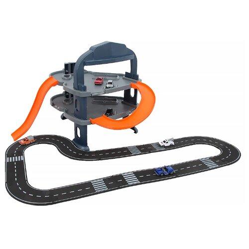 Купить ABtoys Веселое авто: 2-х уровневая городская парковка PT-00171 оранжевый/серый/черный, Детские парковки и гаражи