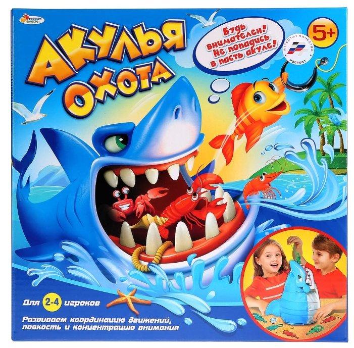 <b>Настольная игра Играем вместе</b> Акулья охота — купить по ...