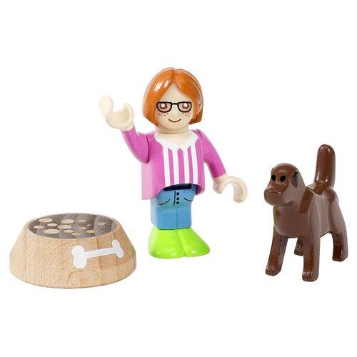 Игровой набор Brio Девочка с собакой 33952 игровой набор brio детская площадка 4 предмета