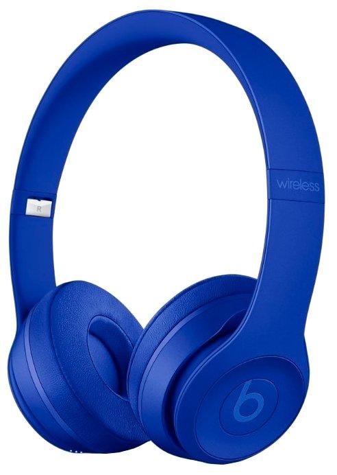 Наушники Beats Solo3 Wireless синяя волна