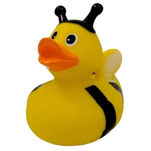 Купить Игрушка для ванной FUNNY DUCKS Пчелка уточка (1890) желтый/черный, Игрушки для ванной