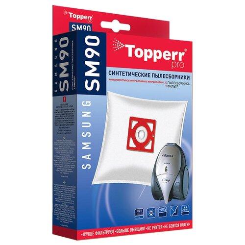 Topperr Синтетические пылесборники SM90 4 шт. недорого