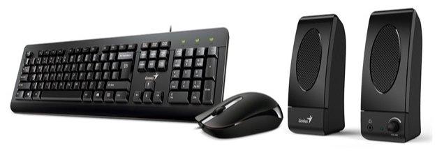 Genius Клавиатура и мышь Genius KMS-U130 Black USB