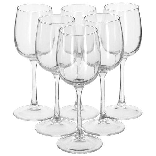 Luminarc Набор бокалов для вина Allegresse 6 шт 300 мл J8164 набор бокалов для вина luminarc celeste shiny graphite 350 мл 6 предметов