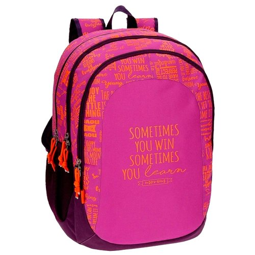 Movom Рюкзак Smile Fucsia (51824B2) розовый/фиолетовыйРюкзаки, ранцы<br>