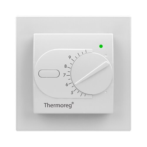 Терморегулятор Thermo Thermoreg TI-200 Design полярный белый терморегулятор stout ti n