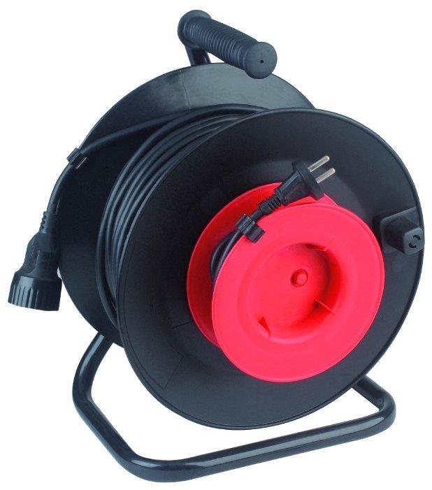 ЭРА RP-1-2x0.75-30m Удлин-ль силовой пласт. катушка без заземл. 30м 1гн 2х0.75мм2 (2/48)