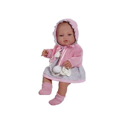 Пупс Munecas Berbesa новорожденный, 42 см, 5104Куклы и пупсы<br>