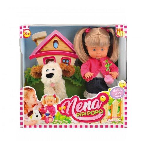 Кукла Dimian Bambolina Нена с собачкой, 36 см, BD385Куклы и пупсы<br>