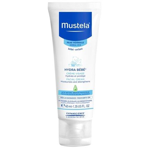 Купить Mustela Крем для лица Hydra-Bebe увлажняющий детский 40 мл, Уход за кожей