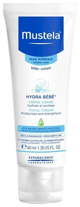 Mustela Крем для лица Hydra-Bebe увлажняющий детский