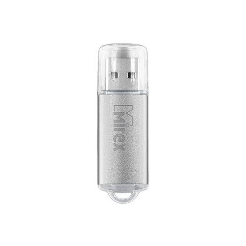 Фото - Флешка Mirex UNIT 16 GB, серебро флешка mirex unit 16 gb синий