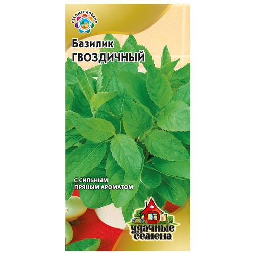 Фото - Семена Гавриш Удачные семена Базилик Гвоздичный 0,3 г, 10 уп. семена гавриш базилик зеленый