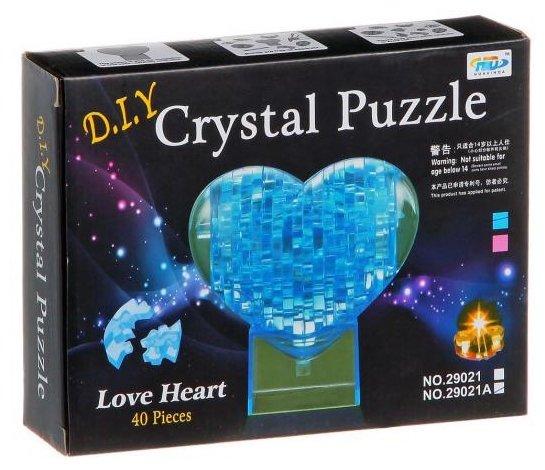 3D-пазл Shantou Gepai 3D Сердце (29021A) в ассортименте, 40 дет.