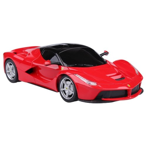 Купить Легковой автомобиль Rastar Ferrari LaFerrari (48900) 1:24 19 см красный, Радиоуправляемые игрушки