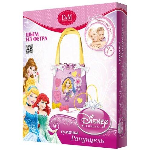 Купить D&M Шьем из фетра Дисней принцесса Сумочка Рапунцель (53682), Наборы для шитья