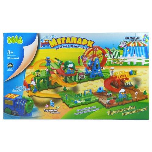 Купить Bebelot Стартовый набор Мегапарк, BBA1612-002, Наборы, локомотивы, вагоны