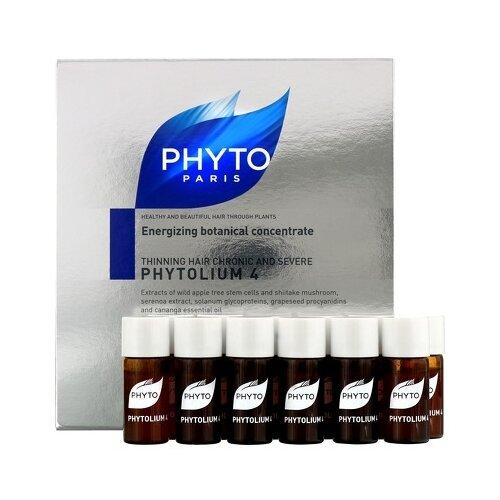 PHYTO Phytolium 4 Сыворотка против выпадения волос, 3.5 мл, 12 шт. kydra by phyto купить в москве