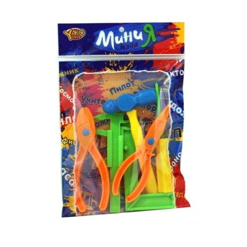 Купить Shantou Gepai МиниМаниЯ, 6 предметов M6153, Детские наборы инструментов
