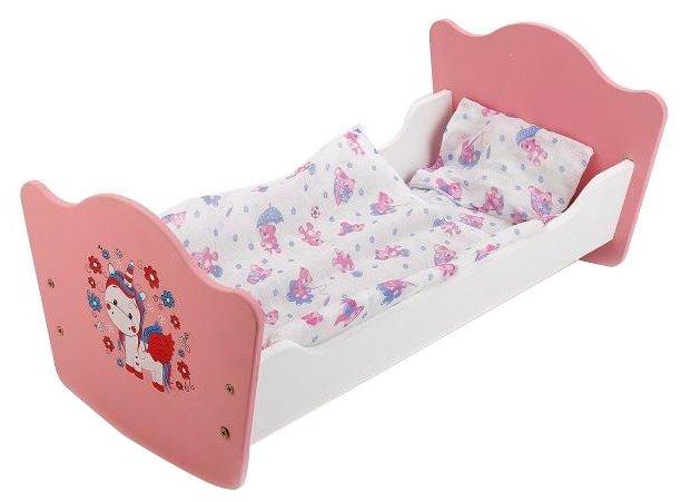 Карапуз Кроватка для куклы Милый пони (RB-P-S)