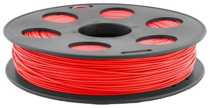 PLA пруток BestFilament 1.75 мм красный 0.5 кг фото 1