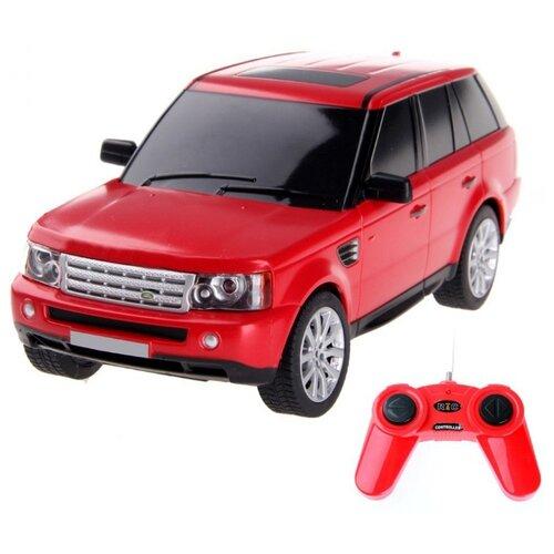 Купить Легковой автомобиль Rastar Land Rover Range Rover Sport (30300) 1:24 21 см красный, Радиоуправляемые игрушки
