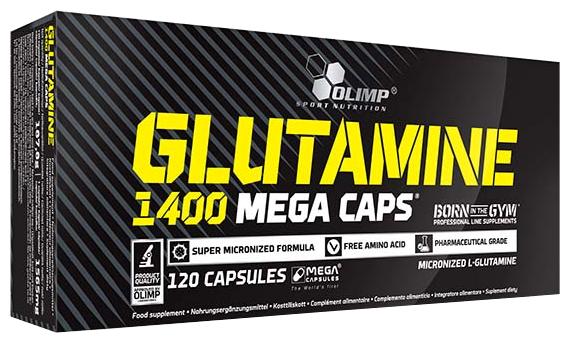 Аминокислота Olimp L-Glutamine Mega Caps (120 капсул)