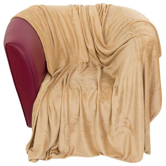 Плед EL CASA Сладкая карамель, 200 х 230 см