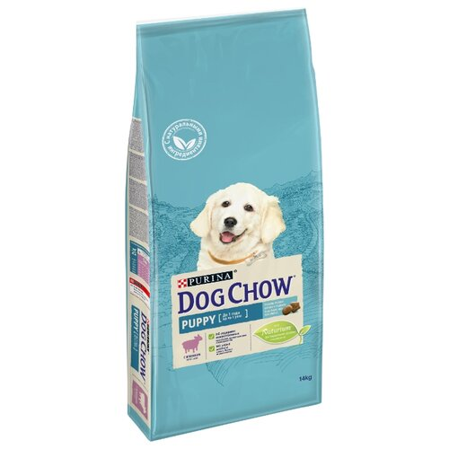 Сухой корм для щенков DOG CHOW ягненок 14 кг dog chow dry food for puppies up to 1 year old with chicken 14 kg