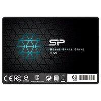 "SSD накопитель SILICON POWER Slim S55 SP060GBSS3S55S25 60Гб, 2.5"", SATA III"