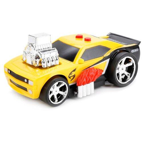 Купить Легковой автомобиль Играем вместе LD-2018B (1110B128-R) желтый, Машинки и техника