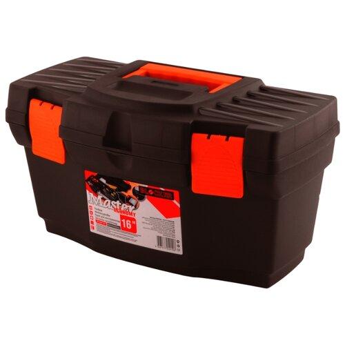 Ящик с органайзером BLOCKER Master Economy PC3708 40.5x21.5x23 см 16'' черный/оранжевый