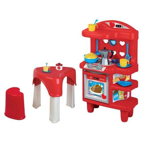 Купить Кухня Faro Bialetti 1564 красный/голубой/желтый/серый, Детские кухни и бытовая техника