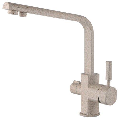 Смеситель для кухни (мойки) KAISER Decor 40144 granit однорычажный sandbeige смеситель для кухни с подключением к фильтру kaiser decor 40144 5