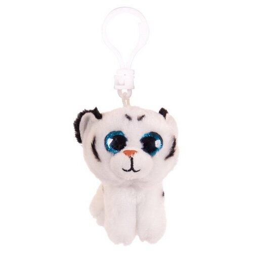Купить Игрушка-брелок Chuzhou Greenery Toys Тигрёнок белый 9 см, Мягкие игрушки