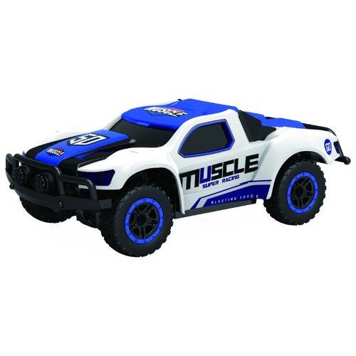 Купить Внедорожник 1 TOY Драйв (Т10939/Т10940/Т10941) 1:43 14.5 см белый/синий, Радиоуправляемые игрушки