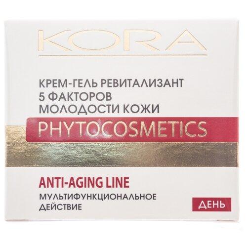 Крем-гель Kora ревитализант 5 факторов молодости кожи, 50 мл крем kora крем для сухой кожи