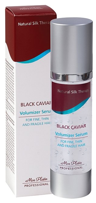 Mon Platin Professional Сыворотка для объема тонких и ломких волос с экстрактом черной икры