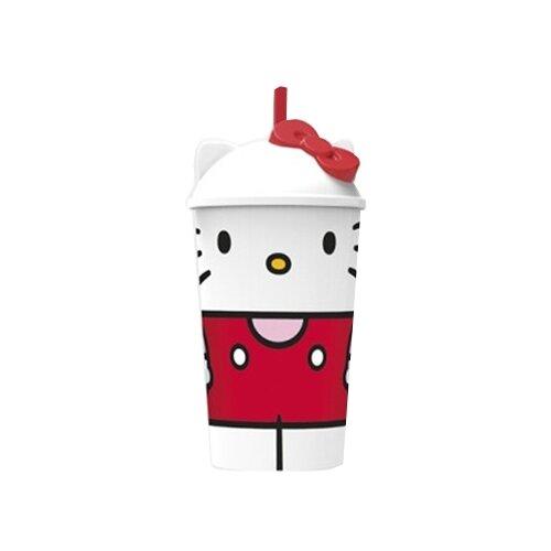 Фото - Stor Стакан пластиковый с соломинкой и крышкой 400 мл Hello Kitty Вишневый джем stor термосумка hello kitty
