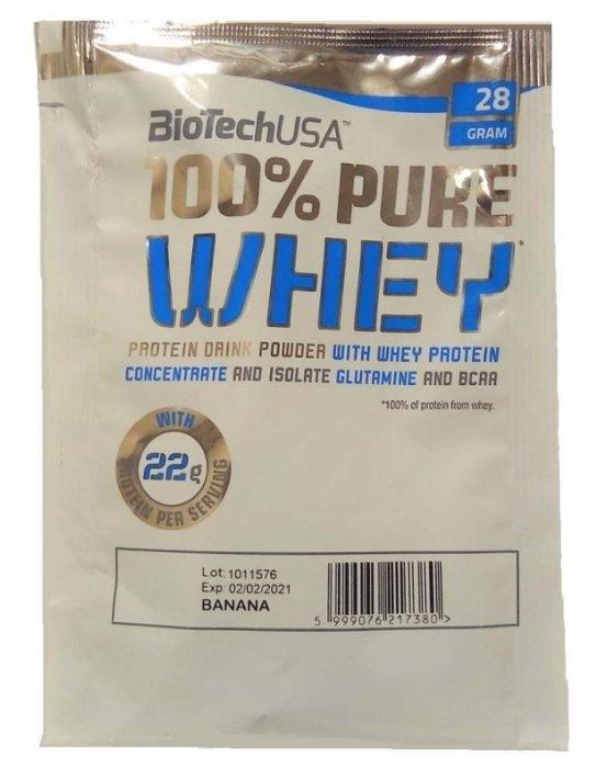 Протеин BioTech 100% Pure Whey (28 г)