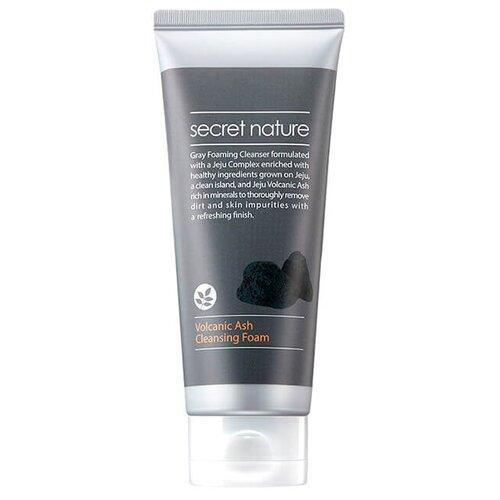 Secret Nature пенка для умывания лица с вулканическим пеплом, 150 млОчищение и снятие макияжа<br>
