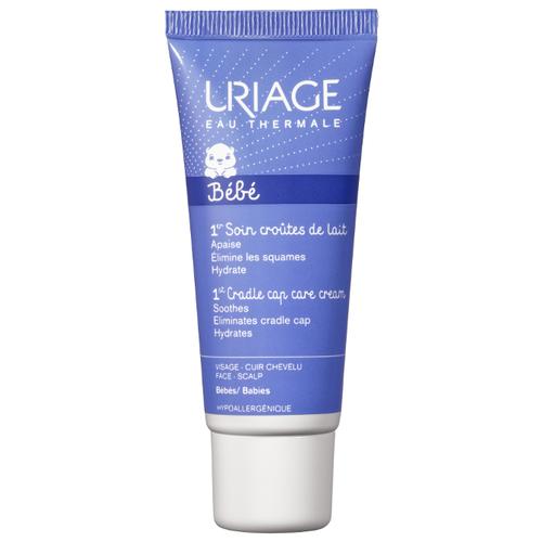 Uriage Регулирующий успокаивающий крем для кожи головы от молочных корочек, 40 мл крем от себорейных корочек мустела купить