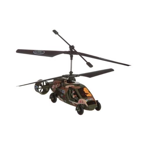 Вертолет Zhorya Air Force (ZYC-1025) камуфляж конструктор игрушечный zhorya робот вертолет