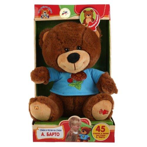 Купить Мягкая игрушка Мульти-Пульти Мишка 25 см стихи и песенки А.Барто, Мягкие игрушки