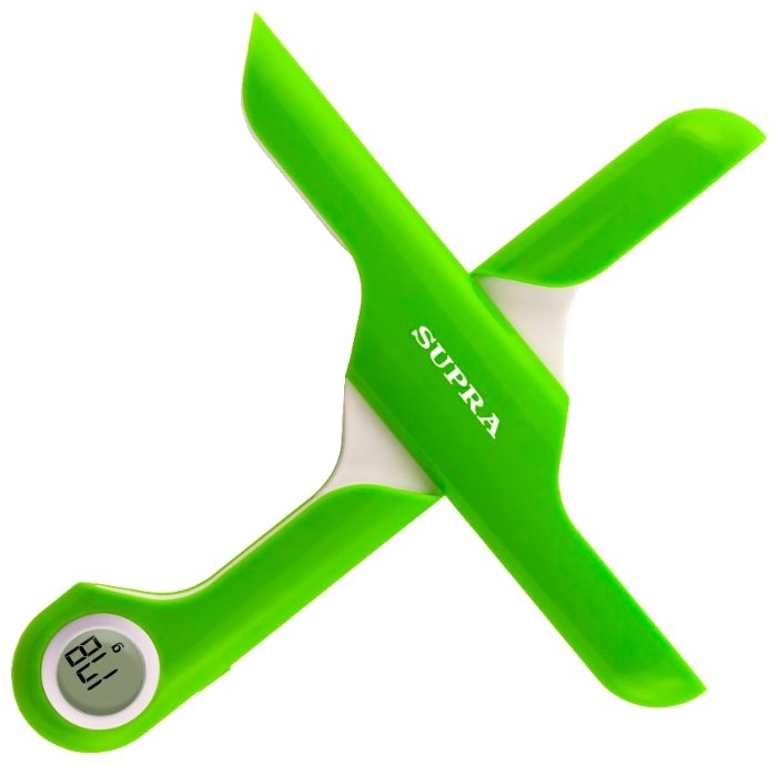 Кухонные весы SUPRA BSS-4102 Lime Green