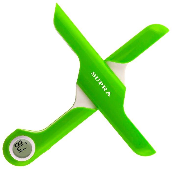 SUPRA Кухонные весы SUPRA BSS-4102 Lime Green