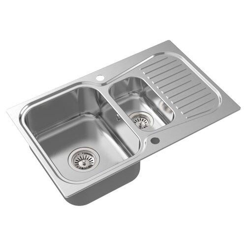 Врезная кухонная мойка 80 см Oulin OL-359S OL-359S сатин oulin ol va8109