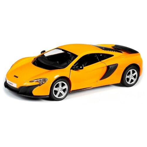 Купить Легковой автомобиль RMZ City McLaren 650S (554992) 1:32 12.7 см желтый, Машинки и техника