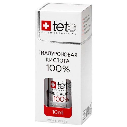 TETe Cosmeceutical Hyaluronic Acid 100% средство для лица Гиалуроновая кислота 100%, 10 мл набор ковриков для ванной quelle tete a tete 1018354