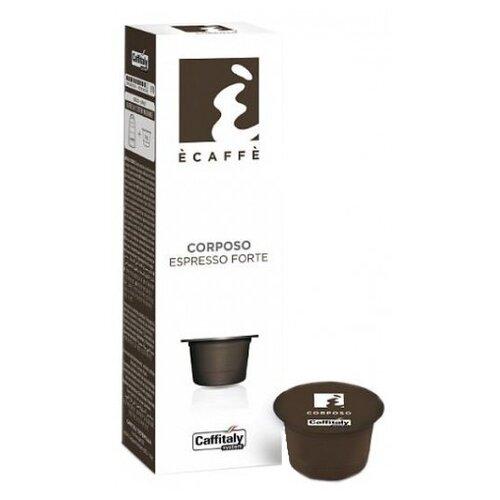Кофе в капсулах Caffitaly Ecaffe Corposo (10 капс.) кофе caffitaly кофе в капсулах mesico